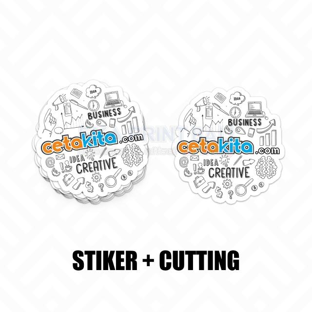 STIKER + CUTTING