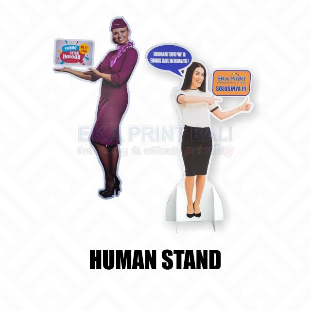 human-stand-ekaprintbali